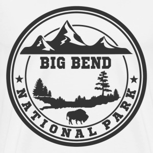 BIG BEND11.png T-Shirts - Men's Premium T-Shirt