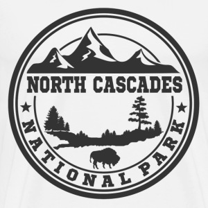 NORTH CASCADES 11.png T-Shirts - Men's Premium T-Shirt