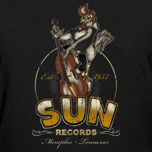 Sun Records Steady Roosterbilly - Women's T-Shirt