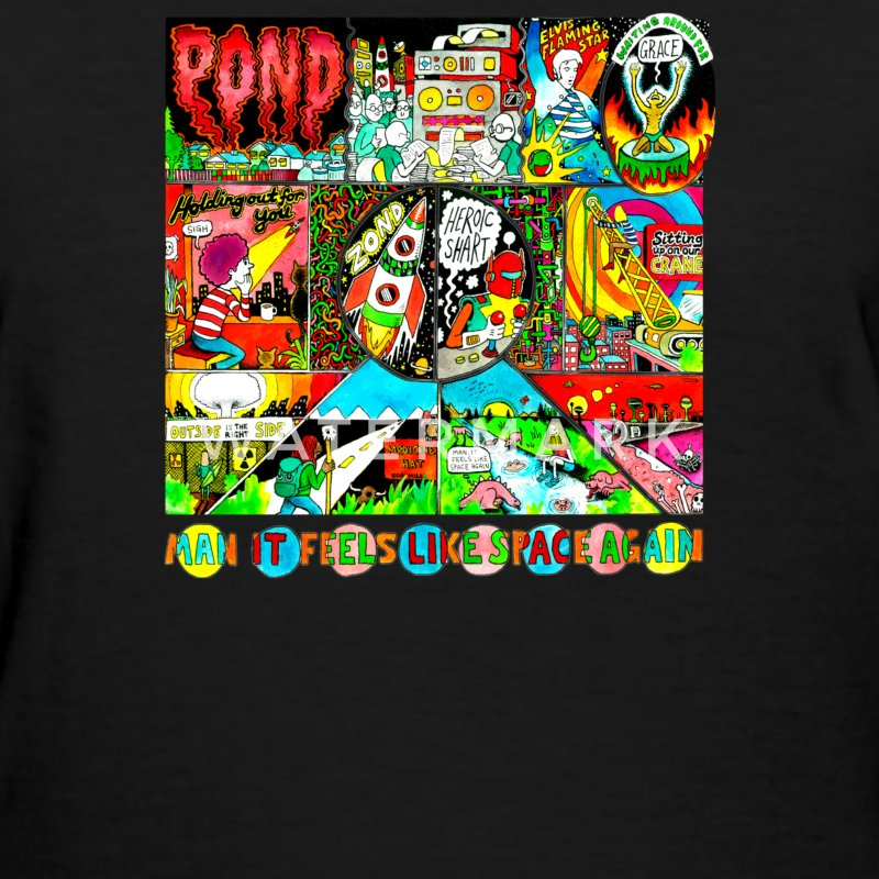 Pond Man It Feels Like Space Again Rock Music Band - Women's T-Shirt