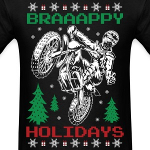 Motorcross Christmas T-Shirts - Men's T-Shirt