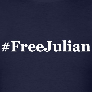 #FreeJulian - Free Julian Assange T-Shirts - Men's T-Shirt
