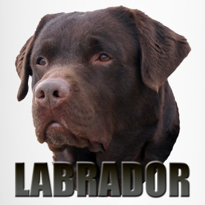 Labrador Brown Mugs & Drinkware - Travel Mug