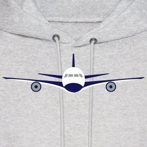 Plane flight Hoodies - Men's Hoodie