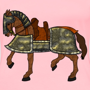 Armored Horse - Women's Premium T-Shirt