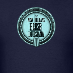 New Orleans Banjo Blues - Men's T-Shirt