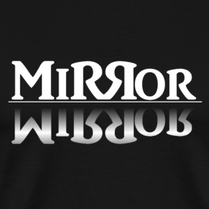 Mirror-Reflection (White) - Men's Premium T-Shirt