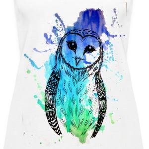 Barn Owl Tank - Women's Premium Tank Top