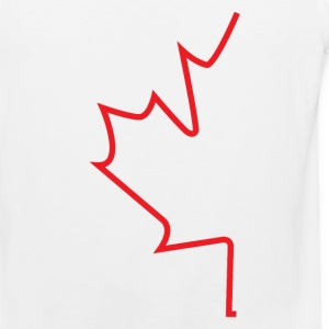 Half Maple Leaf - Men's Premium Tank
