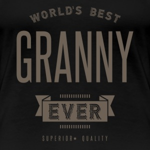 World's Best Granny Ever - Women's Premium T-Shirt