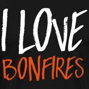 I love bonfires T-Shirts - Men's Premium T-Shirt
