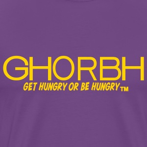 Purple and Gold GHORBH Shirt - Men's Premium T-Shirt