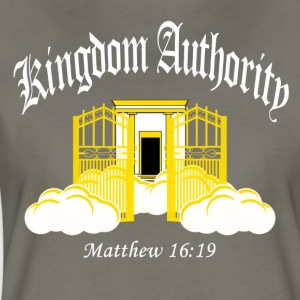 Kingdom Authority (Women's Premium T)White Graphic - Women's Premium T-Shirt
