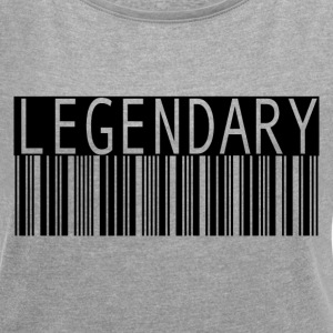 Legendary - Women´s Rolled Sleeve Boxy T-Shirt
