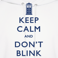Design ~ Keep Calm and Don't Blink - Light