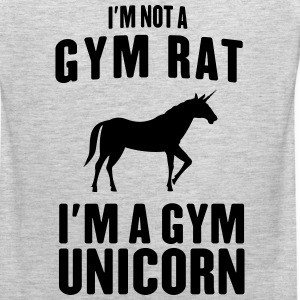 I'm not a gym rat I'm a gym unicorn Sportswear - Men's Premium Tank