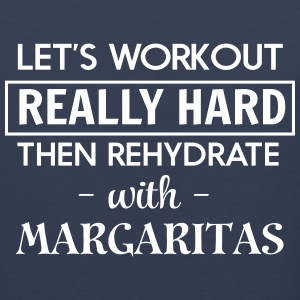 Let's workout and rehydrate with margaritas Sportswear - Men's Premium Tank