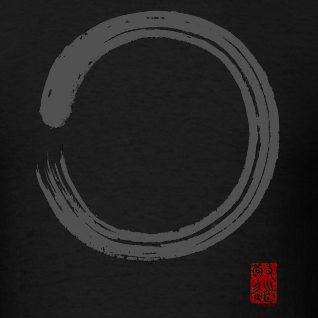 "Men's ""Gray Enso"" T-shirt"