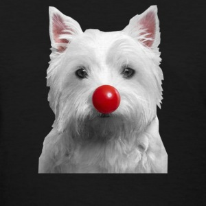 Red Nose Day Westie - Women's T-Shirt
