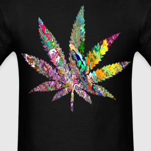 Trippy Weed T-Shirts - Men's T-Shirt