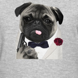 Secret Agent Pug - Women's T-Shirt