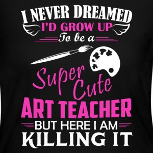 Super Cute Art Teacher - Women's Long Sleeve Jersey T-Shirt