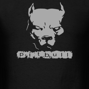Pitbull American Pit Bull Spiked Dog Collar - Men's T-Shirt