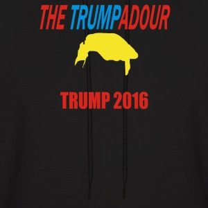 Donald Trump Large - Men's Hoodie
