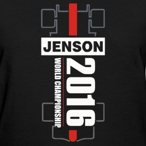 Jenson Button 2016 World Championship - Women's T-Shirt