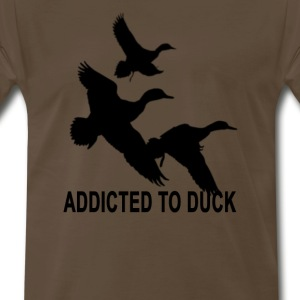 addicted_to_quack_tshirt_ - Men's Premium T-Shirt