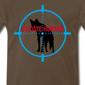 coyote_hunter_tshirt_ - Men's Premium T-Shirt