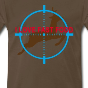 i_love_fast_food_tshirt_ - Men's Premium T-Shirt