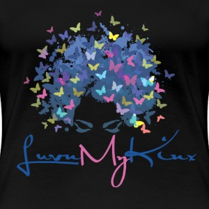 Beauty butterfly - Love you my Klux - Women's Premium T-Shirt