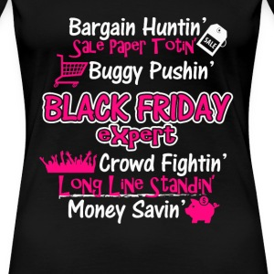 Black Friday expert - Bargain hunting - Women's Premium T-Shirt