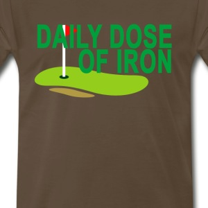 daily_dose_of_iron_golf_ - Men's Premium T-Shirt