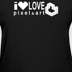 I Love Pixel - Women's T-Shirt
