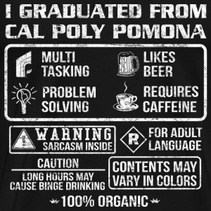 Cal Poly Pomona - Contents may vary in colors - Men's Premium T-Shirt
