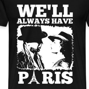 Casablanca - We'll always have Paris - Men's Premium T-Shirt