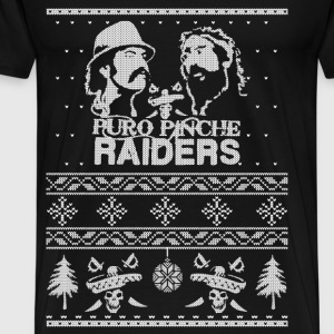 Christmas sweater for Puro Pinche Raiders - Men's Premium T-Shirt