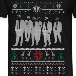 Christmas sweater for Reservoir dogs fac - Men's Premium T-Shirt