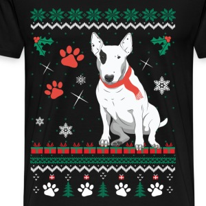 Christmas sweater for Bull Terrier fan - Men's Premium T-Shirt
