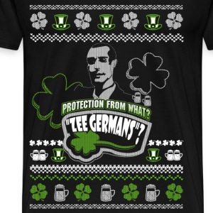 Christmas sweater for Snatch fan - Zee Germans - Men's Premium T-Shirt