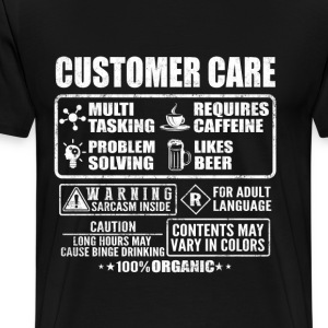 Customer care - Contents may vary in colors - Men's Premium T-Shirt