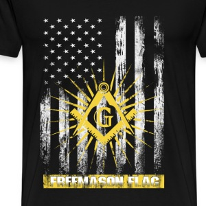 Freemason flag T-shirt - Men's Premium T-Shirt
