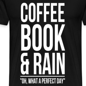 Coffee book  - Men's Premium T-Shirt