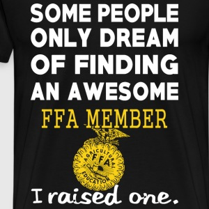 Finding an awesome FFA member - I raised one - Men's Premium T-Shirt