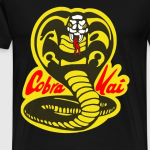 Cobra Kai - Karate Kid fan snakeT-shirt - Men's Premium T-Shirt