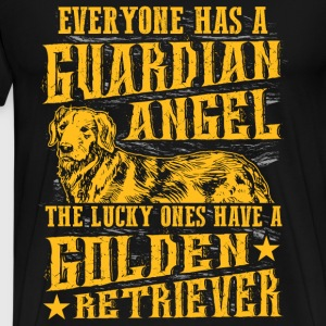 Golden Retriever - Everyone has a guardian angel - Men's Premium T-Shirt