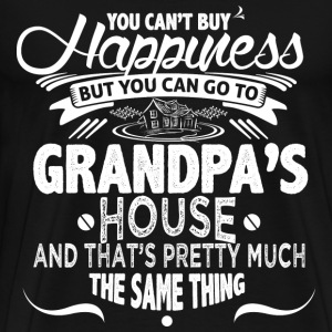 Grandpa's house - That's pretty much the same - Men's Premium T-Shirt