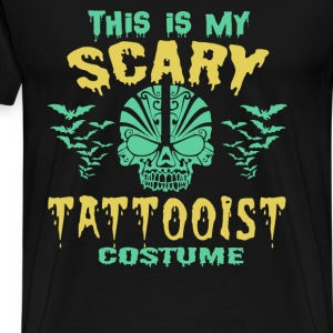 Halloween - This is my scary Tattooist costume - Men's Premium T-Shirt